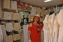 cottons fashions and accessories at boutique santa maria